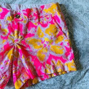 NWOT Lilly Pulitzer The Callahan Short Pink Orange